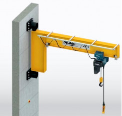 I Beam High Capacity Wall Mounted Jib Crane