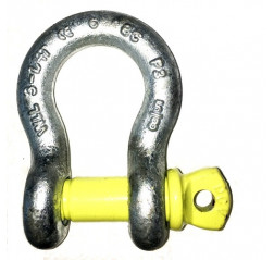 Yellow Pin Alloy Bow Shackles