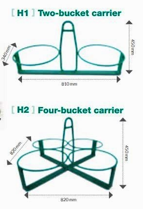 bucket carriers