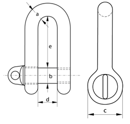 large dee shackle dimensions