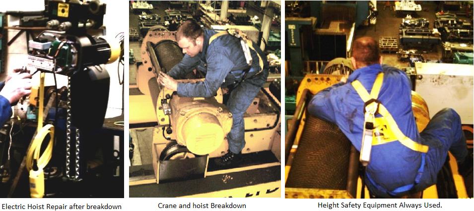 breakdown engineers in action