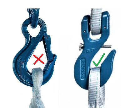 tycan chain hook location