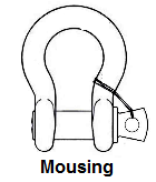shackle mousing